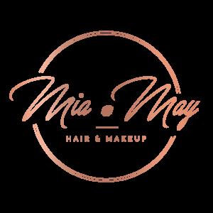 Mia May Full Rose Gold Logo