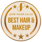 pink-book.co.za Best Hair And Makeup Badge
